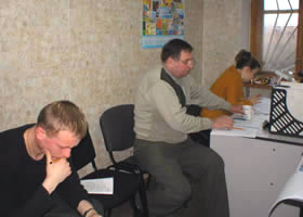 During training with the specialists of the corporation the analysis of past marketing policies is conducted